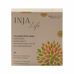 INJA Life Collagen Lemon, 30 Sachets