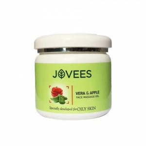 Jovees Apple & Vera Face Massage Gel, 400gm