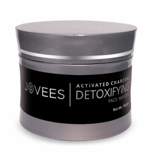 Jovees Activated Charcoal Detoxifying Face Masque, 100gm