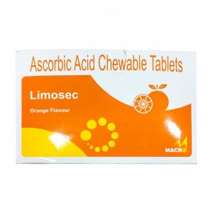 Limosec Chewable, 15 Tablets (Orange Flavour)