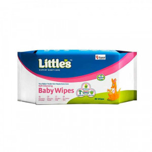 Little's Soft Cleansing Baby, 80 Wipes