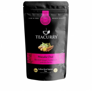 Teacurry Masala Chai Tea, 60 Tea Bags