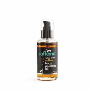 mCaffeine Naked And Raw Coffee Body Polishing Oil, 100ml