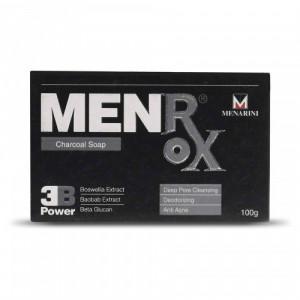 MenRox Charcoal Soap, 100gm
