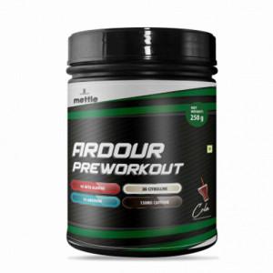 Mettle Ardour Pre Workout Cola, 250gm