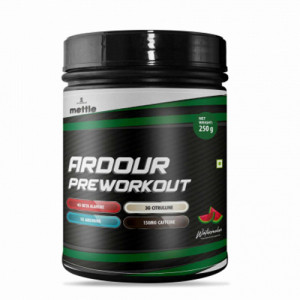 Mettle Ardour Pre Workout Watermelon, 250gm