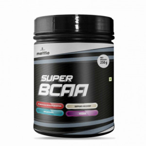 Mettle Super BCAA, 250gm