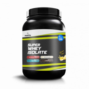 Mettle Super Whey Isolate Banana, 1kg