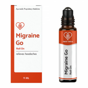 Herb Tantra Migraine Go Roll On, 9ml