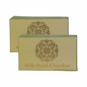 Herbal Hills Milk Haldi Chandan soap, 100gm (Pack Of 2)