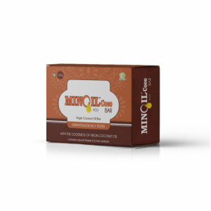 Minoil Coco VCO Bar, 100gm