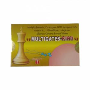 Multigates King, 10 Tablets