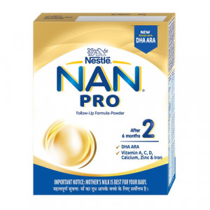 Nan Pro Stage 2 Follow Up Formula Refill Pack, 400gm