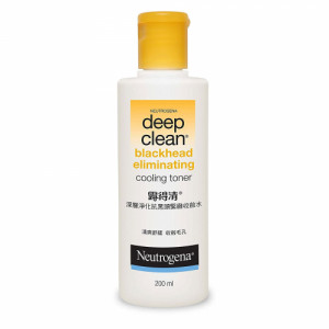 Neutrogena Deep Clean Blackhead Eliminating Cooling Toner, 200ml