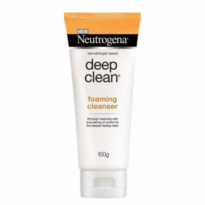 Neutrogena Deep Clean Foaming Cleanser, 100gm
