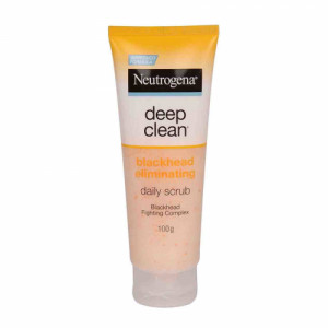Neutrogena DeepClean Blackhead Eliminating Daily Scrub, 100gm