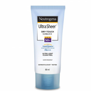 Neutrogena Ultra Sheer SunBlock SPF50, 88ml