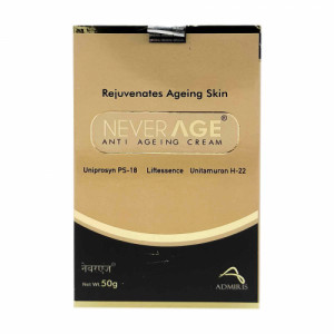 Never Age Anti Ageing Cream, 50gm