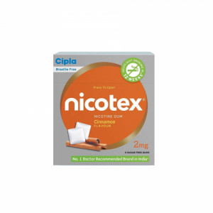 Nicotex 2mg Cinnamon Flavour, Pack of 6