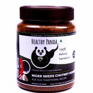 Healthy Panda Niger Seeds Chutney Powder, 250gm