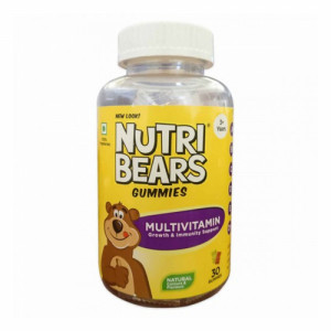 Nutribears Multi Vitamin with Minerals, 30 Gummies