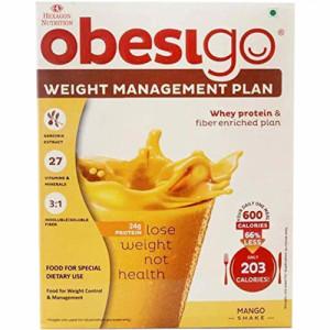 Obesigo Mango Flavour, 58gm (Pack Of 7)