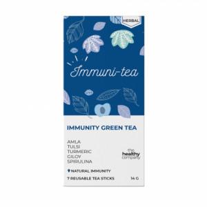The Healthy Company One Week Immunity Green Tea, 14 Tea Sticks