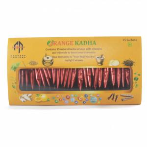 Orange Kadha, 25 Sachets