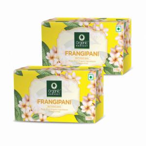 Organic Harvest Frangipani Bathing Bar, 110gm (Pack Of 2)
