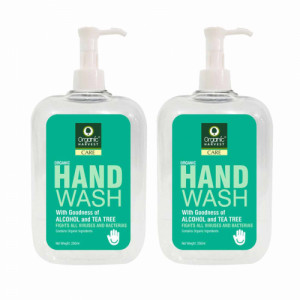 Organic Harvest Tea Tree Hand Wash, 250ml (Pack Of 2)