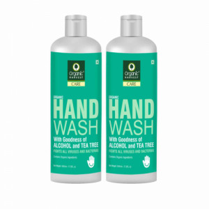 Organic Harvest Tea Tree Hand Wash, 500ml (Pack Of 2)