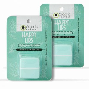 Organic Harvest High Gloss Lip Balm, 10gm  (Pack Of 2)