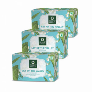 Organic Harvest Lily Of the valley Bathing Bar, 110gm (Pack Of 3)