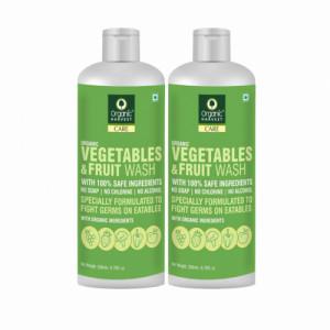 Organic Harvest Vegetables & Fruit Wash, 200ml (Pack Of 2)