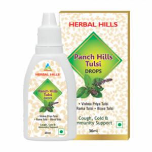 Herbal Hills Panch Hills Tulsi Drops, 30ml