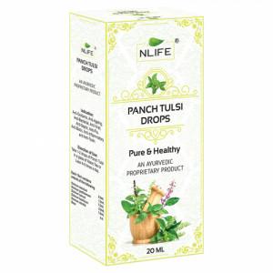Lifespan Panch Tulsi Drops, 20ml