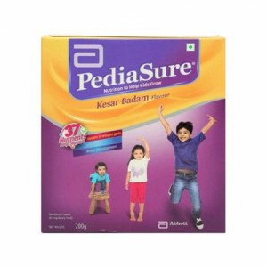 PediaSure Kesar Badam Refill Pack, 200gm