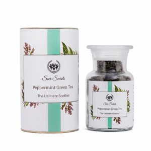 Seer Secrets Peppermint Green Tea, 50gm