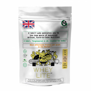 OMG Whey Lite Pineapple, 200gm