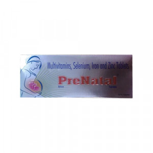 Prenatal Tablet, 10 Tablets