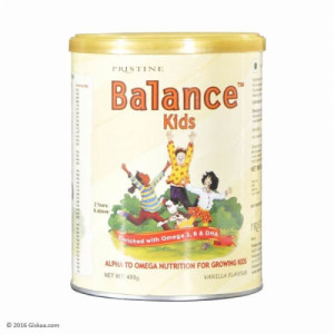Pristine Balance Kids-Vanilla, 400gm