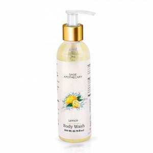 Sage Apothecary Lemon Body Wash, 200ml
