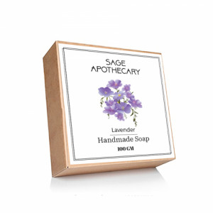 Sage Apothecary Lavender Soap, 100gm