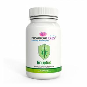 Nisarga Herbs Imuplus, 60 Capsules