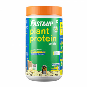 Fast&Up Plant Protein Vanilla Cupcake, 10 Servings