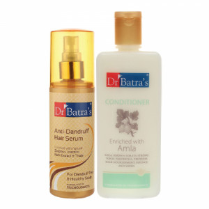 Dr Batra's Anti Dandruff Hair Serum With Conditioner, 200ml Combo Pack