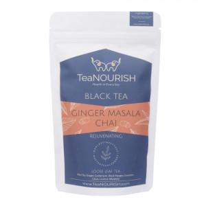 TeaNOURISH Ginger Masala Chai Tea, 50gm