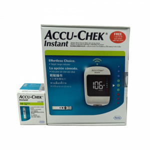 Accu-chek Instant Blood Glucose Meter With 10 Free Strips