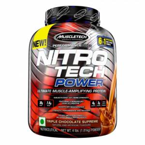 Muscletech Nitro Tech Power Triple Chocolate Supreme, 1.81kg