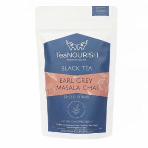 TeaNOURISH Earl Grey Masala Chai Tea, 50gm